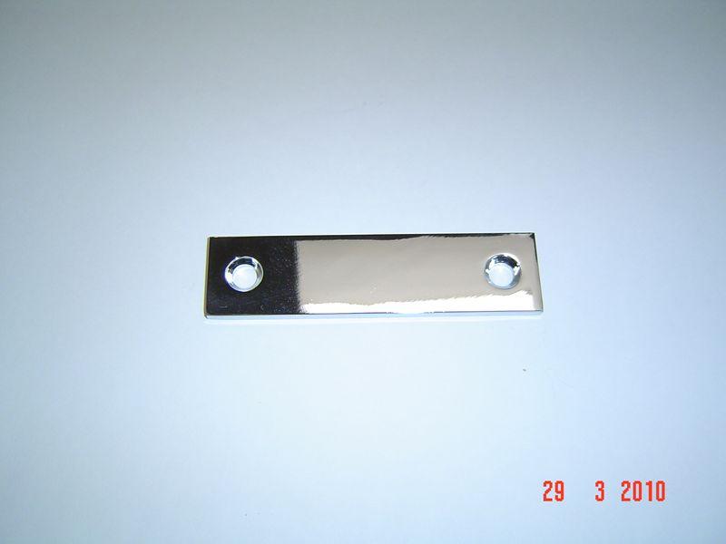 CP Brass Flat Plate, #133-B Image