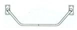 Shower Curtain Rods - Neo-Angle, #380-01 Image