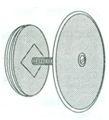Extension Cleanout Plug Cover Plug Set, #452-(15-40) Image
