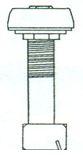 Urinal Fan Spreader - Brass, #590 Image