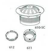 Stall Urinal Strainer, #610-SC Image