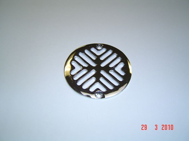 Flat Slotted Grid only for WR-906 Universal Strainer 3 11/16 C-C Hole, #WR-906-G Image