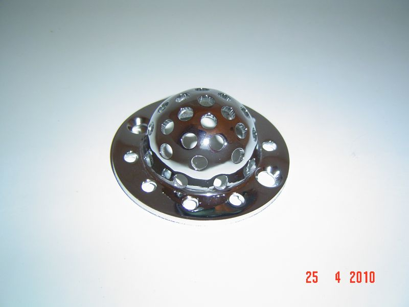 Perforated Grid only for WR-908 Universal Strainer 3 11/16 C-C Hole, #WR-908-G Image